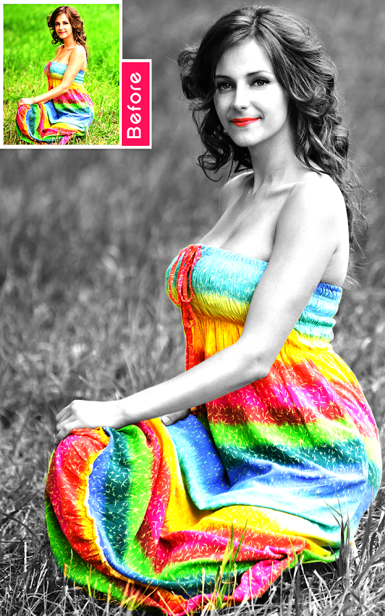 Color Splash Photo- screenshot