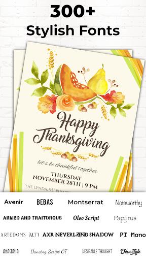 Invitation Maker Free, Paperless Card Creator android2mod screenshots 6