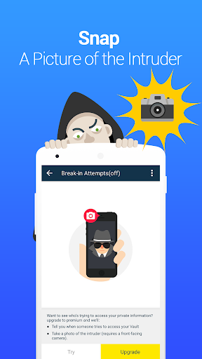 Vault-Hide SMS,Pics & Videos,App Lock,Cloud backup Aplicaciones (apk) descarga gratuita para Android/PC/Windows screenshot
