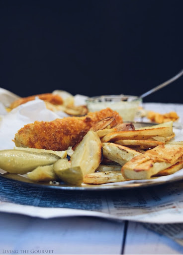 Goldfish Crackers Crusted Fish and Chips
