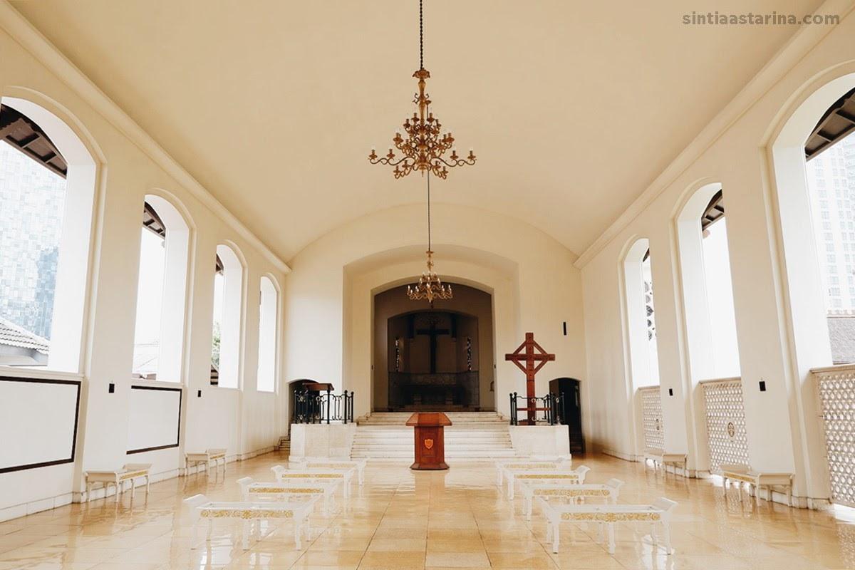 Gereja Simultan atau Simultaankerk di Ereveld Menteng Pulo