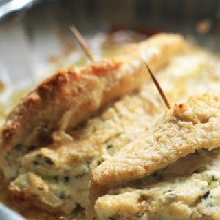 Cream Cheese and Chive Stuffed Chicken