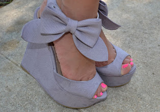 Photo: Pretty Shoes. Super lindo mis zapatos :)