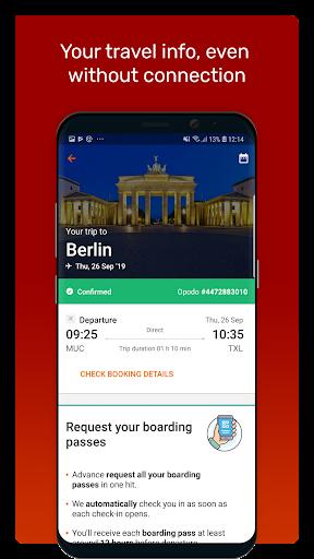 Opodo: Book cheap flights and travel deals 4.172.0 screenshots 6
