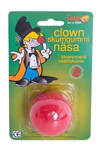 Clownnäsa, skumgummi
