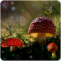 Fireflies Jungle LWP for G, S6 icon