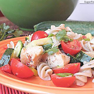 Healthier Italian Pasta Salad {Gluten Free}