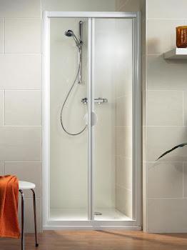 Porte de douche pliante en niche, 70, 80 ou 90 cm, Phoenix II