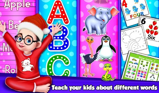 Christmas Counting Activities For Kids- screenshot thumbnail