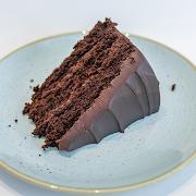 Gluten-Free Chocolate Cake Slice