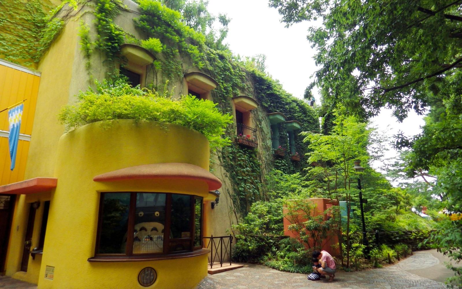 The Ghibli Museum.