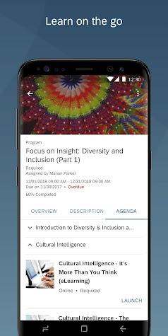 SuccessFactors Screenshot