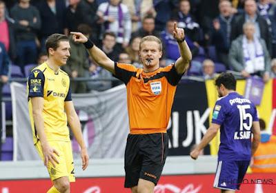 L'arbitre du Topper entre Bruges et Anderlecht a été désigné