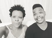 Zodwa says she's giving her bae Ntobeko (right) space.
