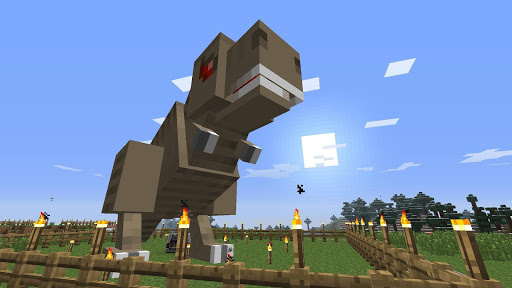 Dinosaur Mods For MCPE for PC