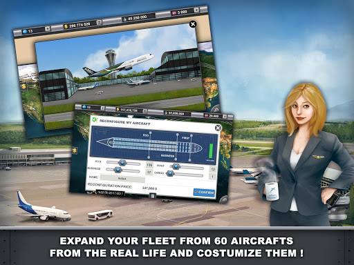 Airlines Manager - Tycoon 2018  screenshots 7