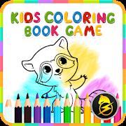Coloring Book Game : Alphabet Animals