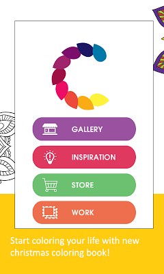 Adult Coloring Book-ColorXmas - screenshot