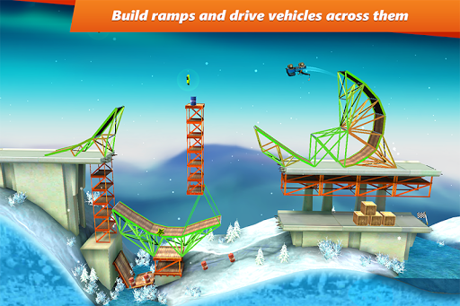 Bridge Constructor Stunts v1.2 APK (MOD)