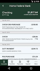 Home Federal Bank Mobile screenshot 3