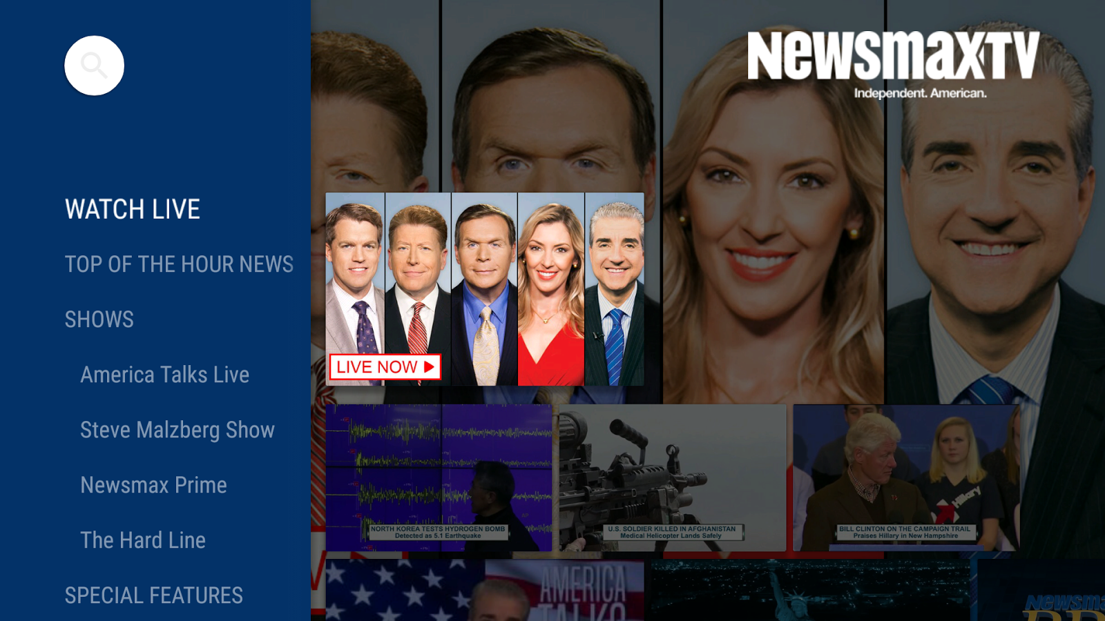 Newsmax TV- screenshot