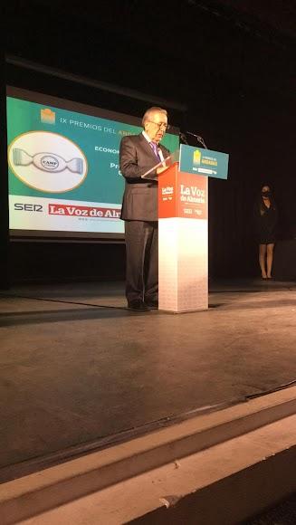 Premio Economía y Empresa para Productos CAMP.