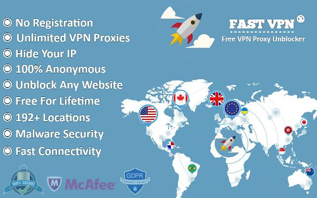 FastVpn - Free VPN Proxy Unblocker