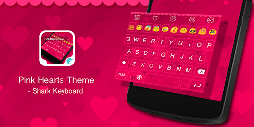 Emoji Keyboard-Pink Heart