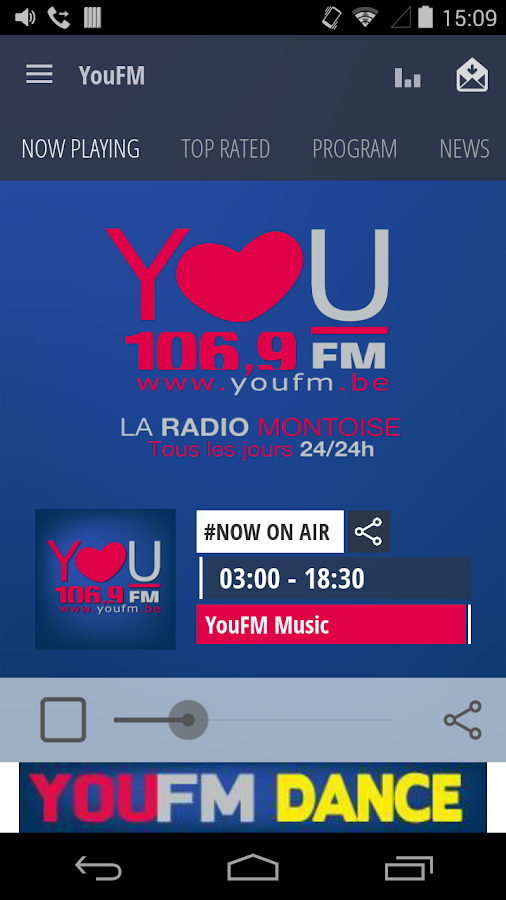 YouFM- screenshot