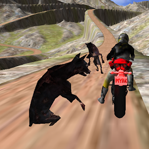 Zombie Escape : Bike Racing for PC and MAC