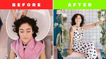 Before and After - YouTube Thumbnail template