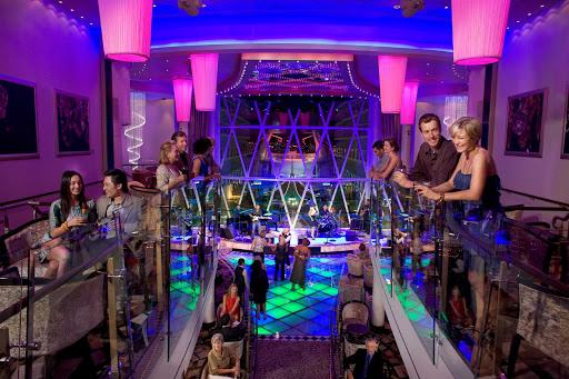 harmony-of-seas-dazzles - Like its sister ships, Harmony of the Seas features the Dazzles nightclub.
