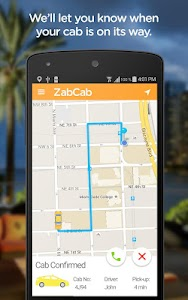 ZabCab - The Taxi App screenshot 1