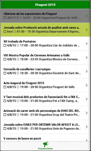 Firagost 2015 App no oficial