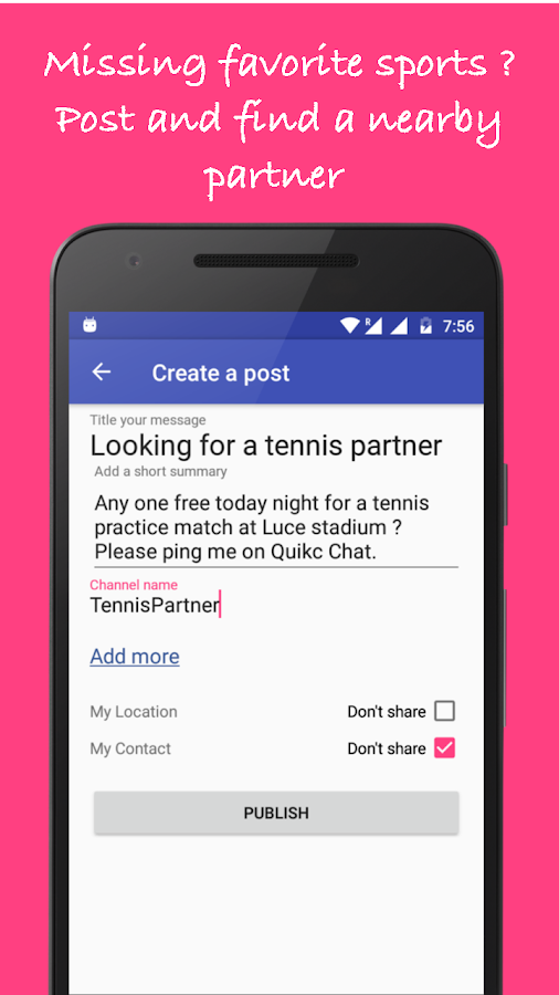 Quikc - Connect, Meet and Help Nearby- screenshot