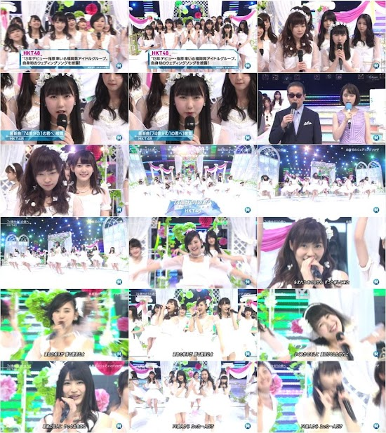 (TV-Music)(1080i) HKT48 – Music Station 160415