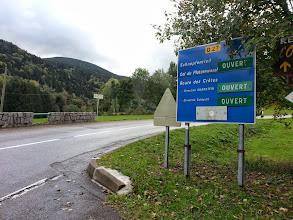 Photo: Ouf! Le col du Platzerwasel et la route des Crêtes sont ouverts !