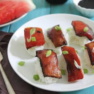 Watermelon Sashimi.