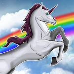Unicorn Run - free Icon