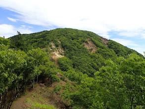 前方に銚子岳