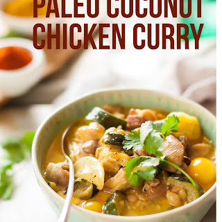 Simple Paleo Chicken Curry.