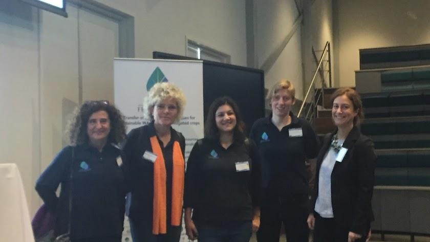 Mujeres del programa Fertinnowa de la Comisión Europea