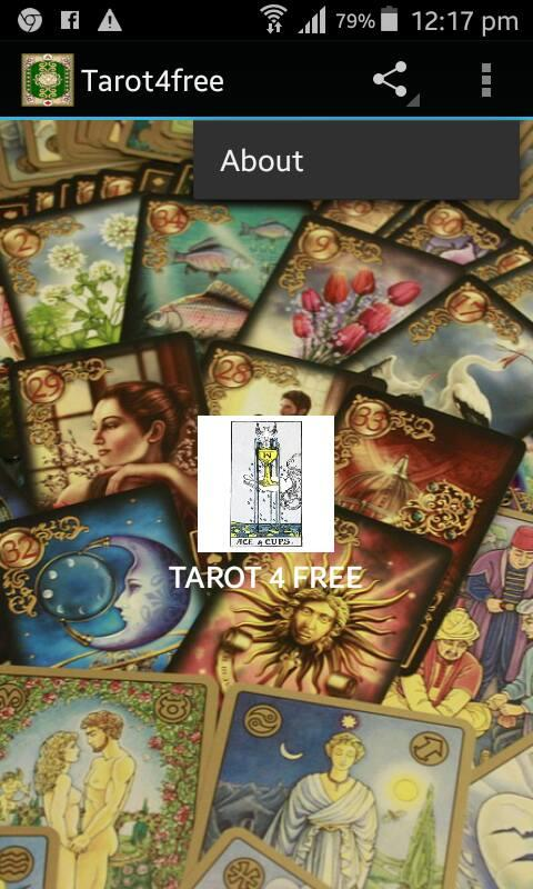Tarot4free- screenshot