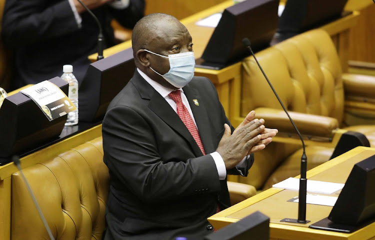 President Cyril Ramaphosa told parliament that companies in tourism and hospitality, renewable energy, oil and gas, the oceans economy, automotive and infrastructure were among those that had so far contributed. File photo.