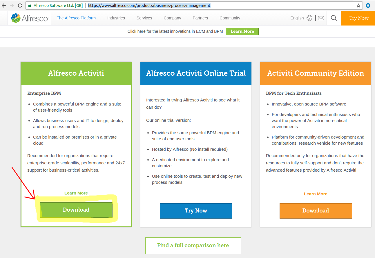 Getting Started with Alfresco Process Services | Alfresco