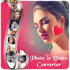 Photo to video converter icon