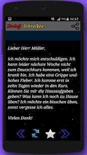 скачать Brief Schreiben Zur Prüfung Apk 141 для андроид