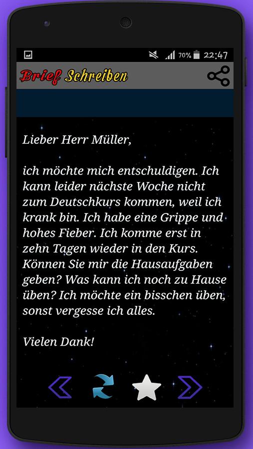 Briefe Schreiben Deutsch Als Fremdsprache übungen Für A2 Und B1 : Brief schreiben zur prüfung android apps on google play