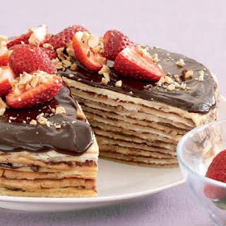 Chocolate Crêpe Cake.
