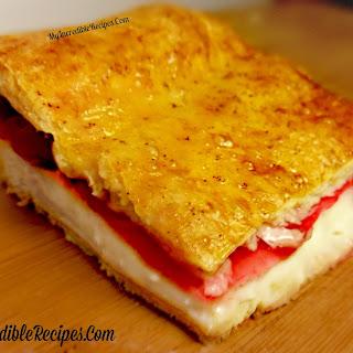 Sopapilla Cherry Cheesecake Bars! Recipe